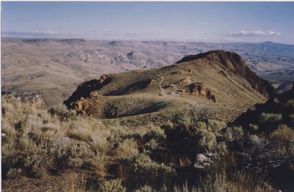View of Owyhee Canyon from rim.