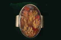 Priday Plume in Gold Ring