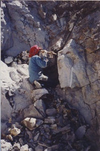 lower cliff dig 1996