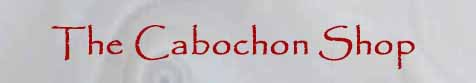 Logo - The Cabochon Store by Thom Lane.