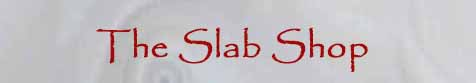 Logo - The Slab Store by Thom Lane.