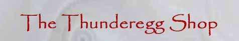 Logo - The Thunderegg Store by Thom Lane.