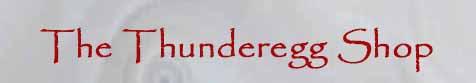 Logo - The Thunderegg Store by Thom Lane.